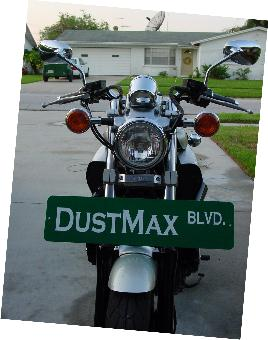 The DustMax - Sign DustMax Blvd
